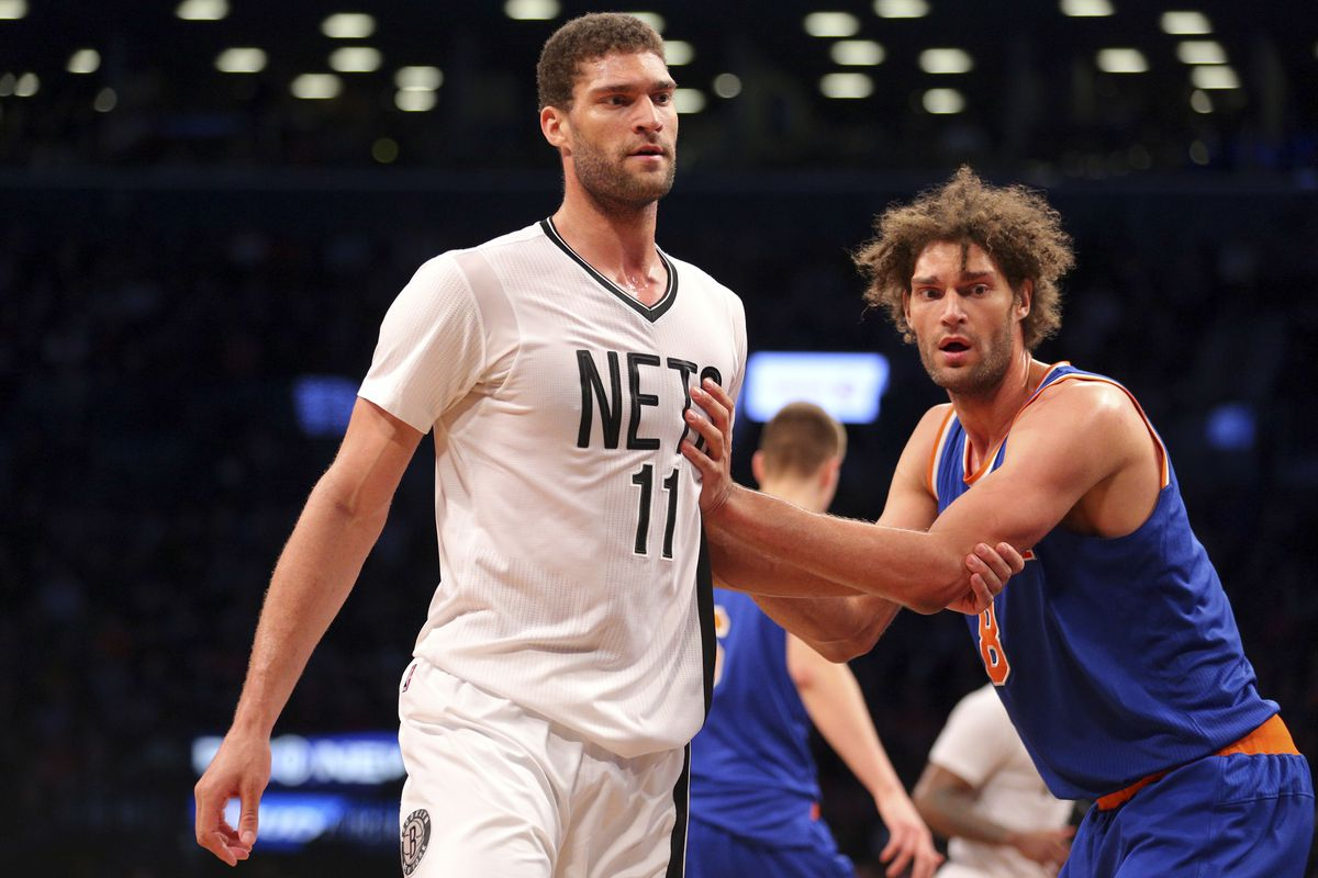 new product 27aa3 e4eae Nets and Brook Lopez look to earn bragging rights over ...