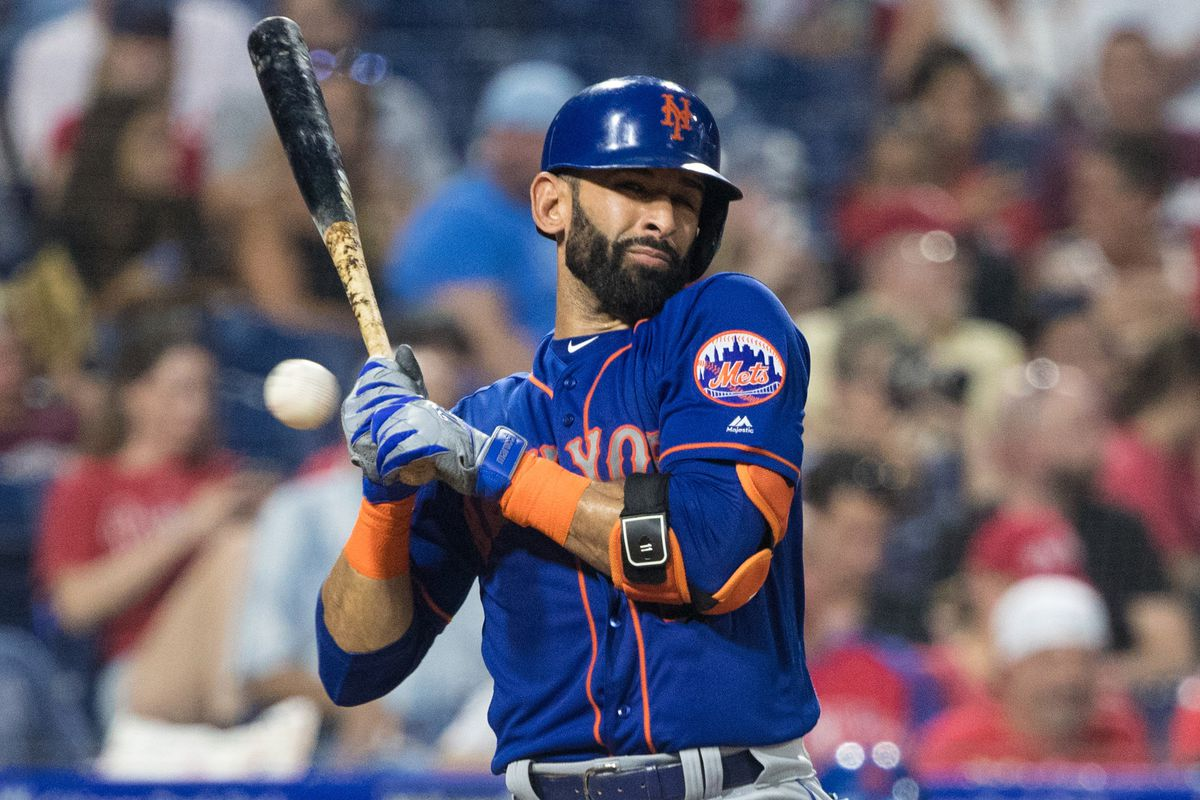 hot sale online 5efb9 24057 Phillies acquire Jose Bautista from the Mets for some reason ...