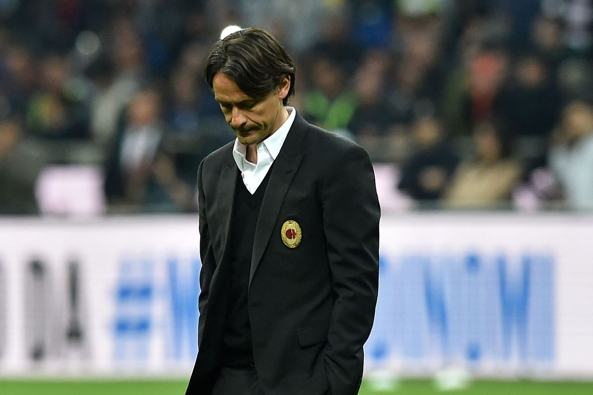 A thoughtful Pippo Inzaghi.