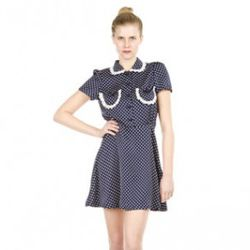 Lesley Peter Pan Collar Dress, $189 (was $475), Chloe Sevigny x Opening Ceremony, Barney's Co-Op Chelsea<br />(image via openingceremony.us)