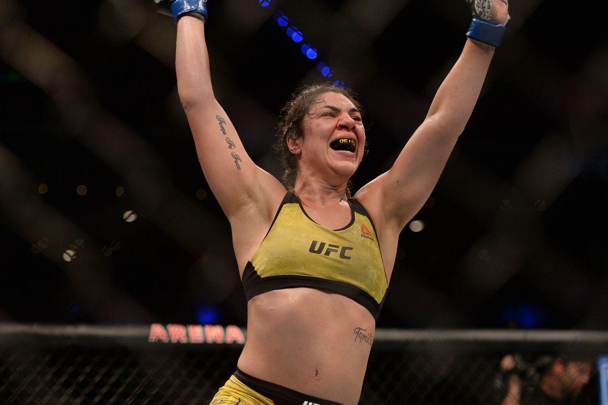 Bethe Correia dedicates UFC win to sister battling breast cancer