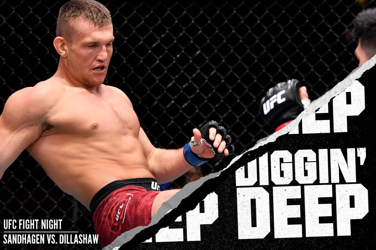 Ian Heinisch fighting Kelvin Gastelum at UFC 258