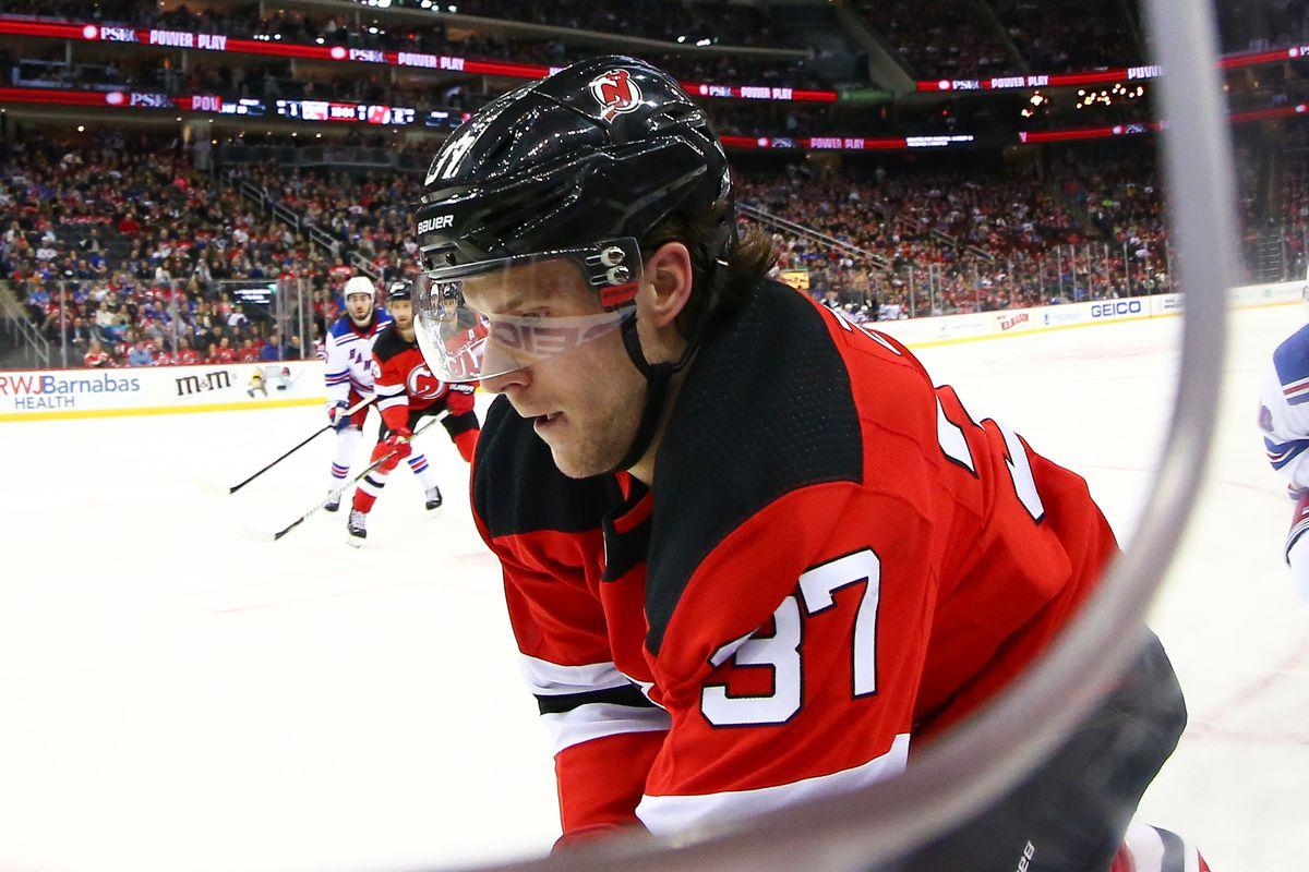 NHL: APR 01 Rangers at Devils