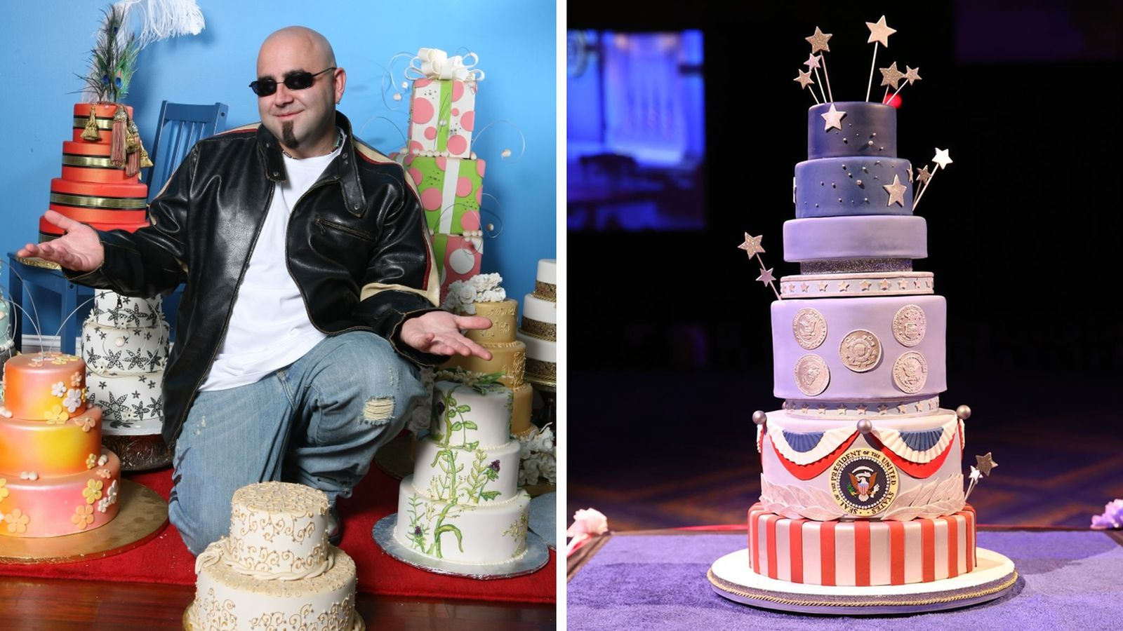 Behold Duff Goldman S Star Spangled Inaugural Cake Eater