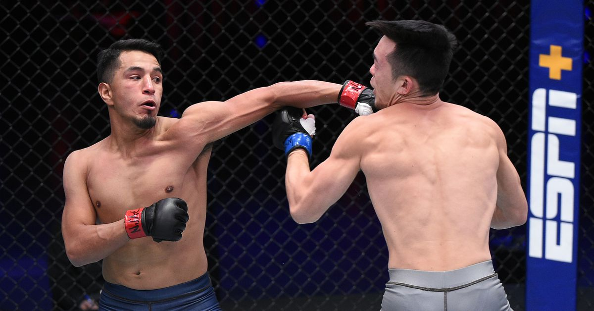 Video: Adrian Yanez earns 5th fastest stoppage in DWCS history with 39-second TKO