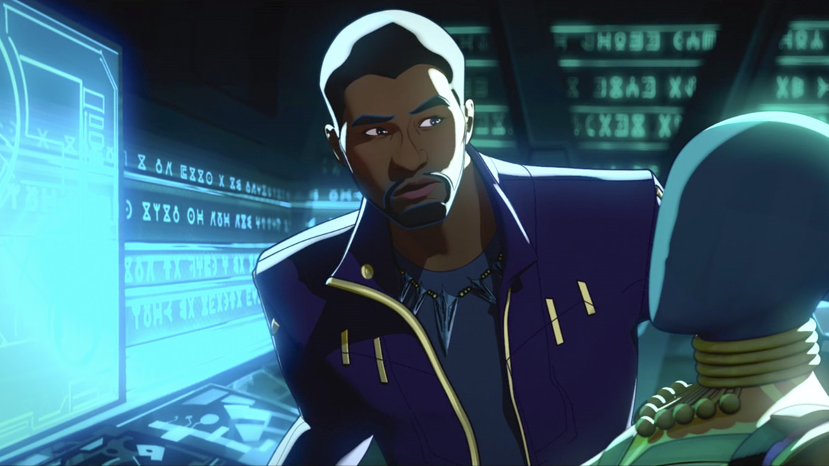 T'Challa finds a Wakandan spacecraft in What If...?
