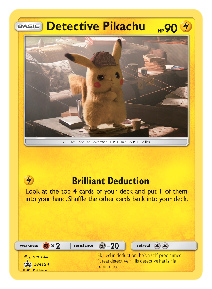 Detective Pikachu Toys Trading Cards Come To Stores This