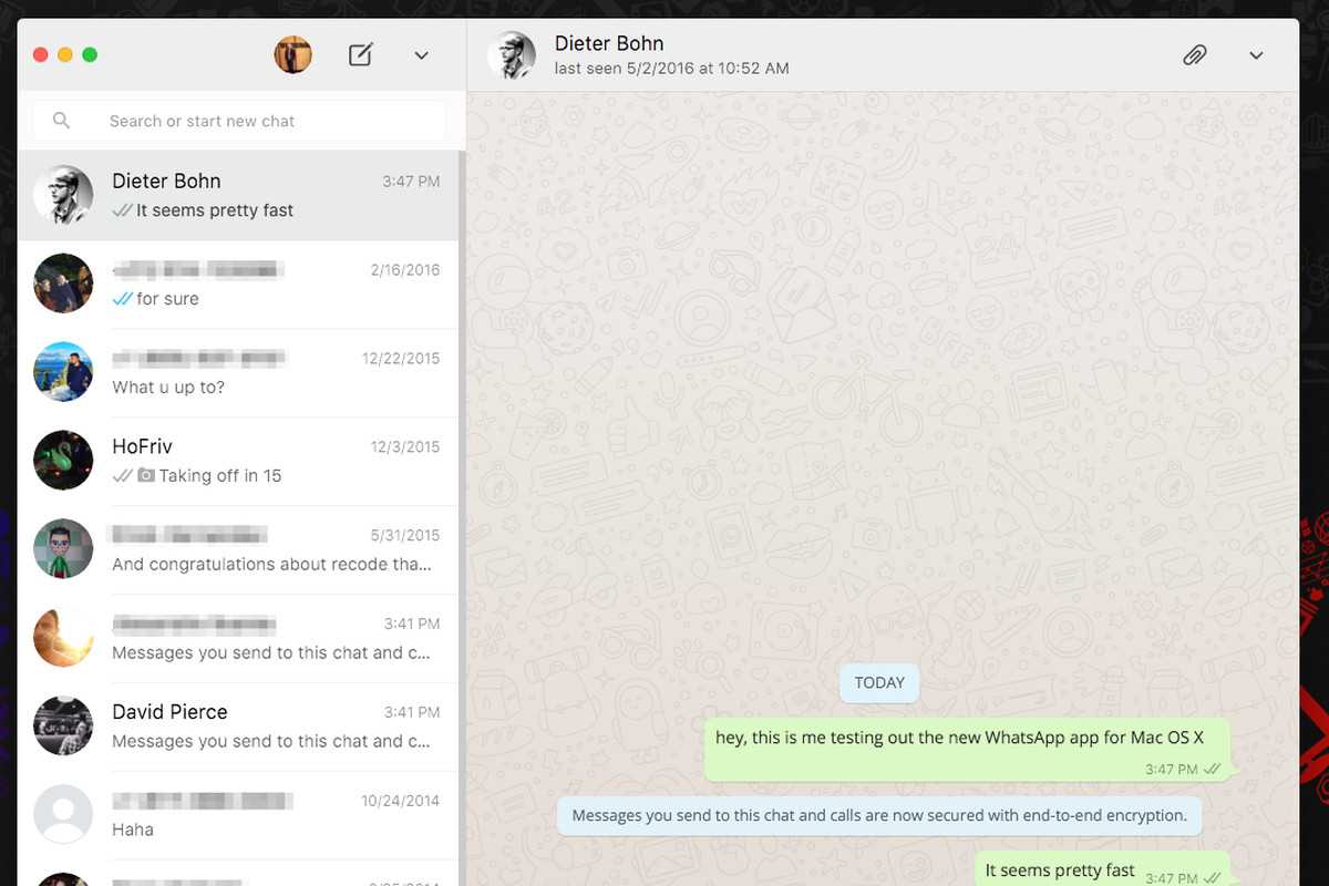 Cool Whatsapp Just Released Desktop Apps For Mac And Windows Download Free Architecture Designs Scobabritishbridgeorg