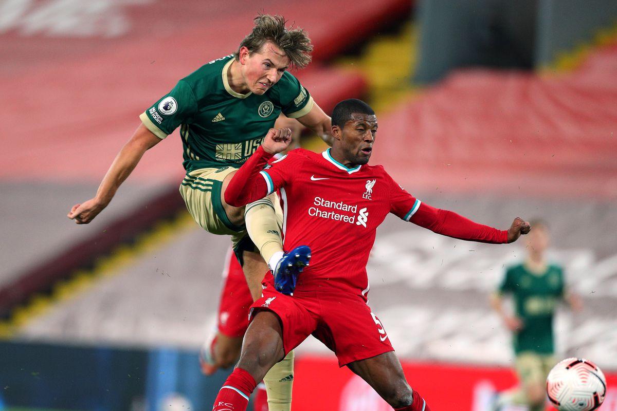 Liverpool v Sheffield United - Premier League - Anfield
