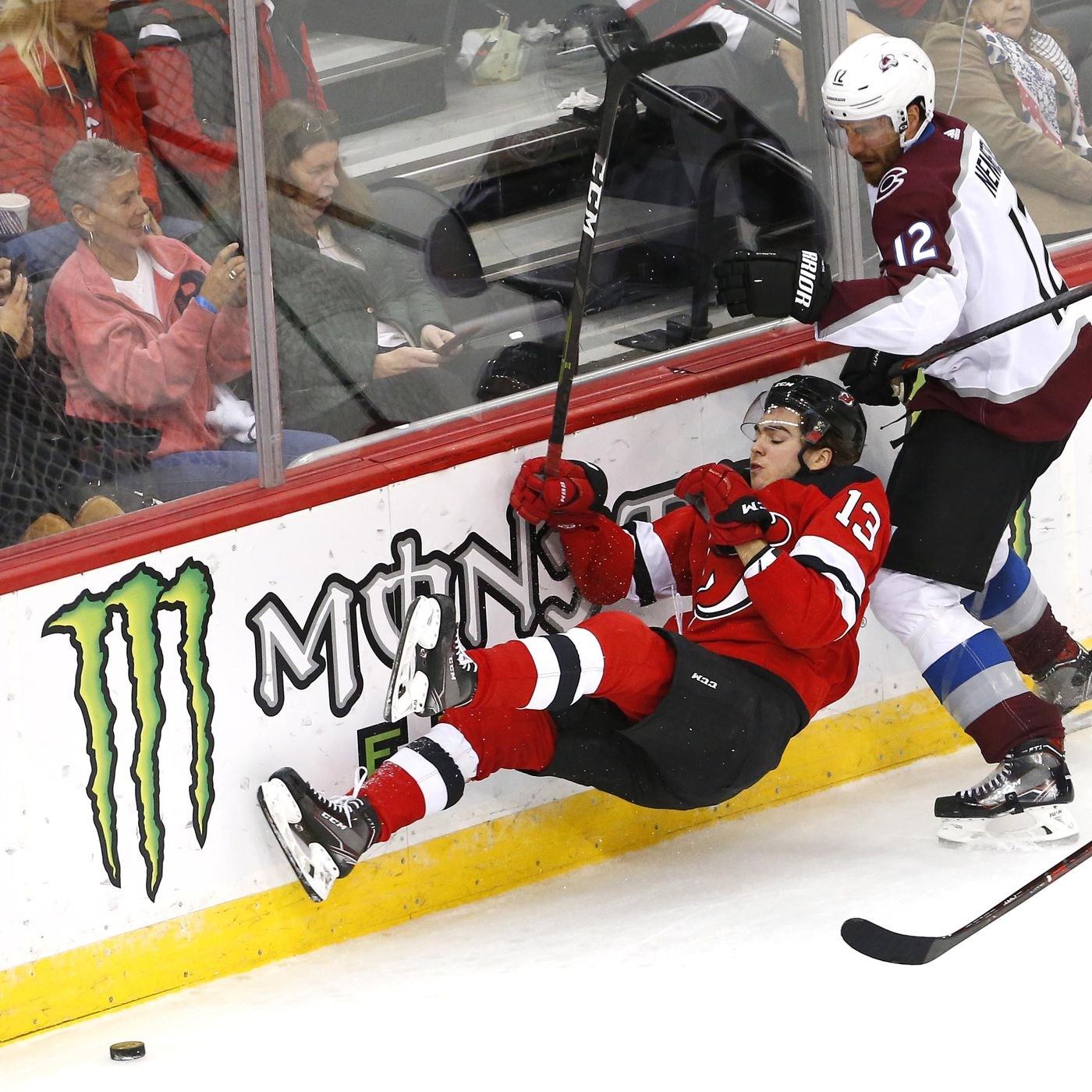 Winning Streak Ends as Sloppy New Jersey Devils Defeated by Colorado  Avalanche 5e16fa5bf