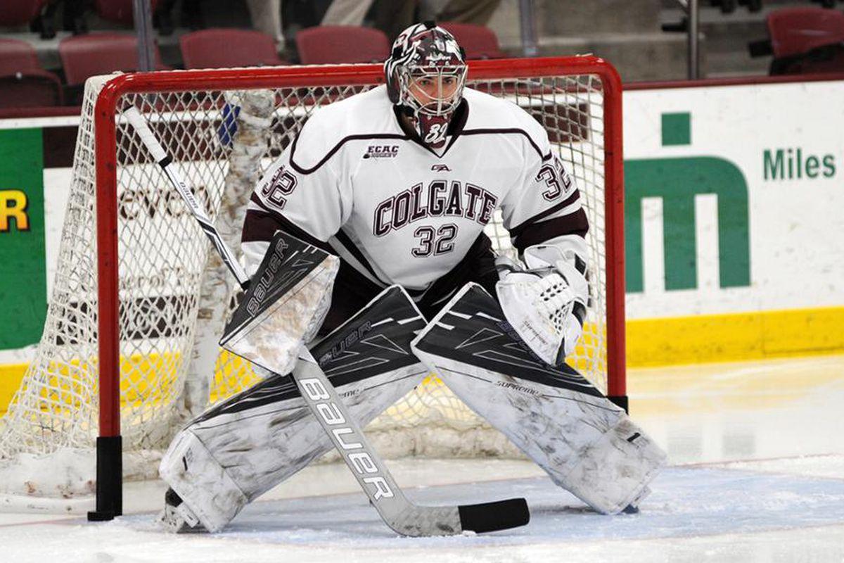 Colton Point, goalie, Colgate University Hockey