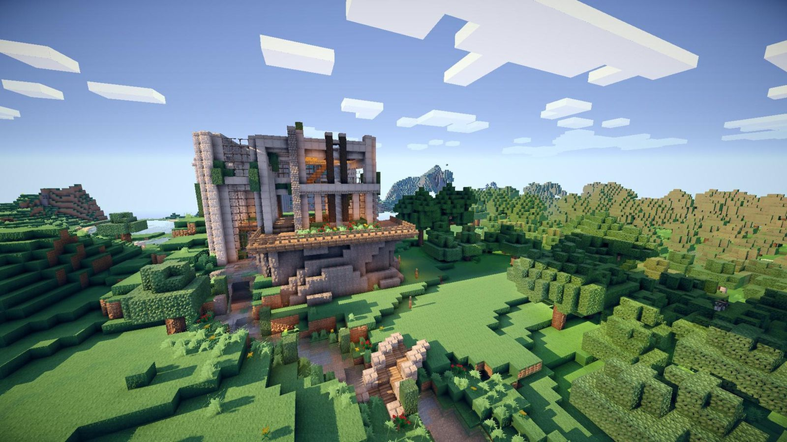 Minecraft Infographic Works Out The Staggering Number Of