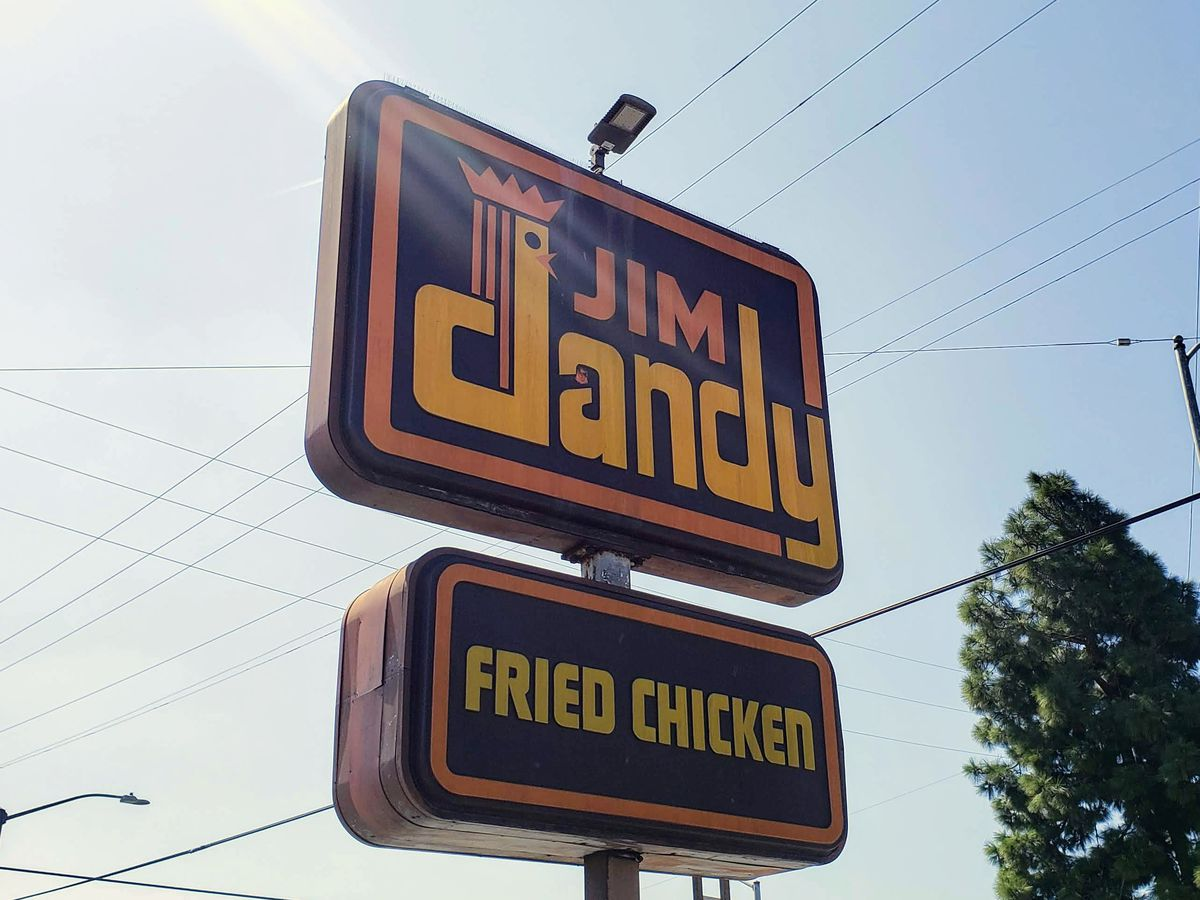 Jim Dandy Fried Chicken in South Los Angeles
