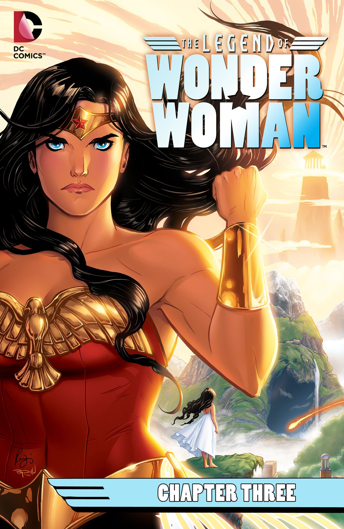 The cover of The Legend of Wonder Woman