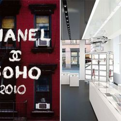 """Chanel finally settled back down in Soho this past September. Image via <a href=""""http://soho-2010.chanel.com/#/home"""" rel=""""nofollow"""">Chanel Soho</a>"""