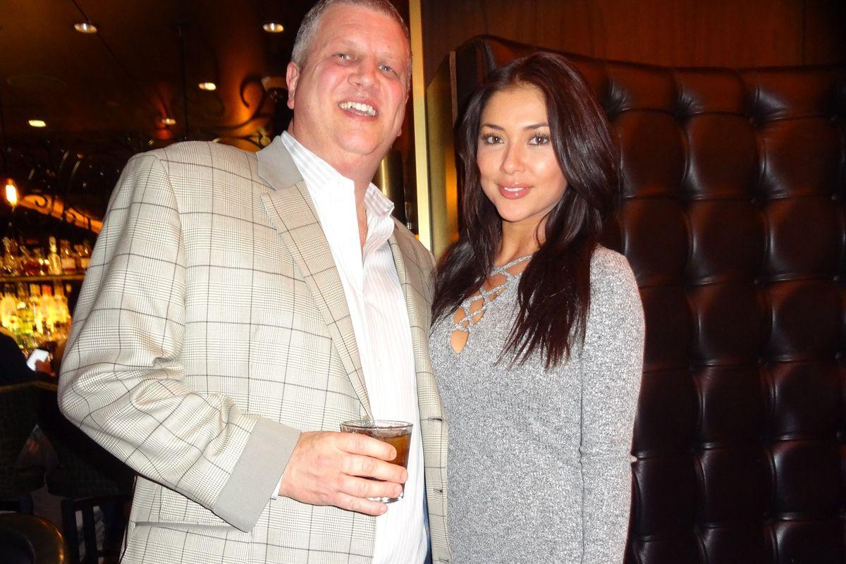 Dereck Stevens and Arianny Celeste