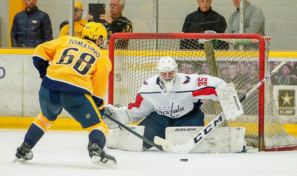 NHL Prospects Tournament Washington Capitals v Nashville Predators