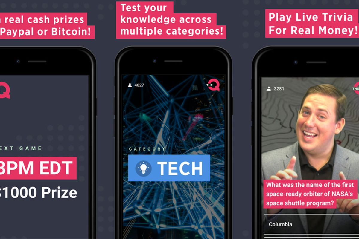 Trivia game HQ finally has a competitor called The Q - The Verge
