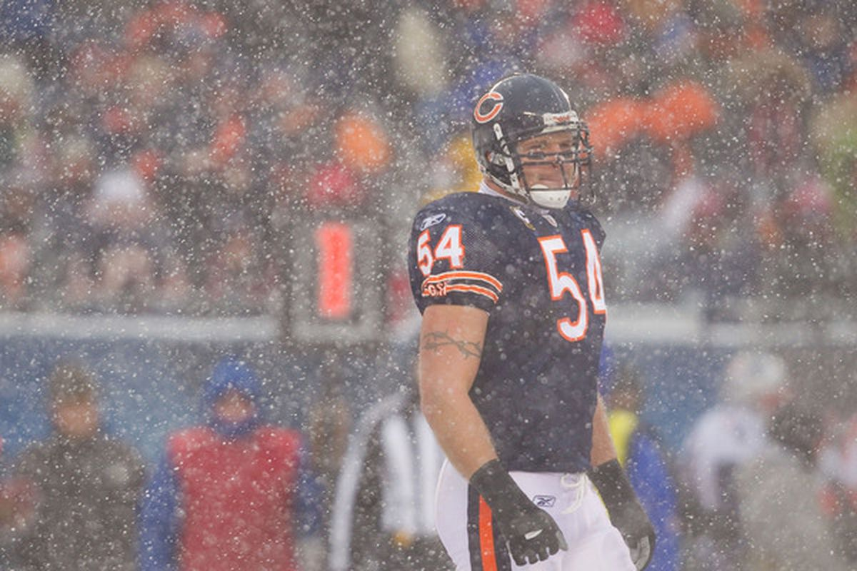 This is the most Chicago Bears picture I've ever seen.