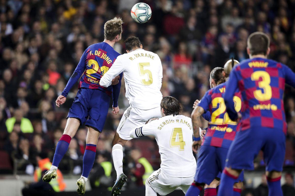 El Clasico Tactical Review Barcelona 0 0 Real Madrid 2019 La