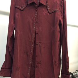 Silk blouse, size L, $112 (was $385)