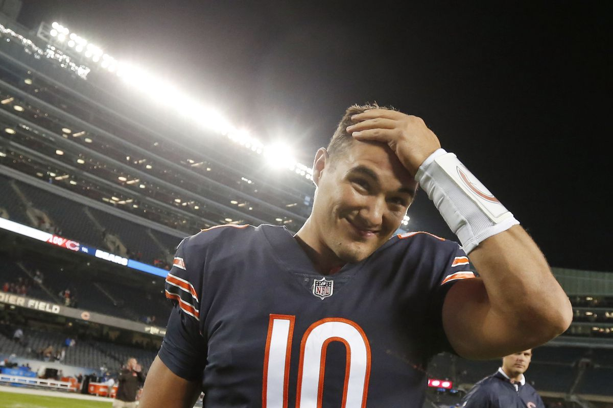 Mitch at night: Trubisky must show Bears he can thrive in prime time