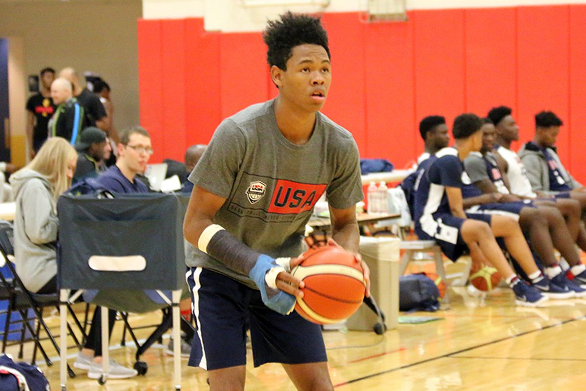 the latest 2dc72 ee530 Meet Anfernee Simons, who will enter the 2018 NBA Draft ...