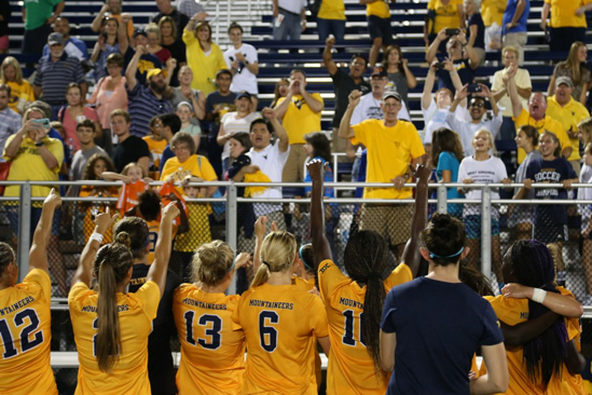 WVU Women's Soccer Beat Duke