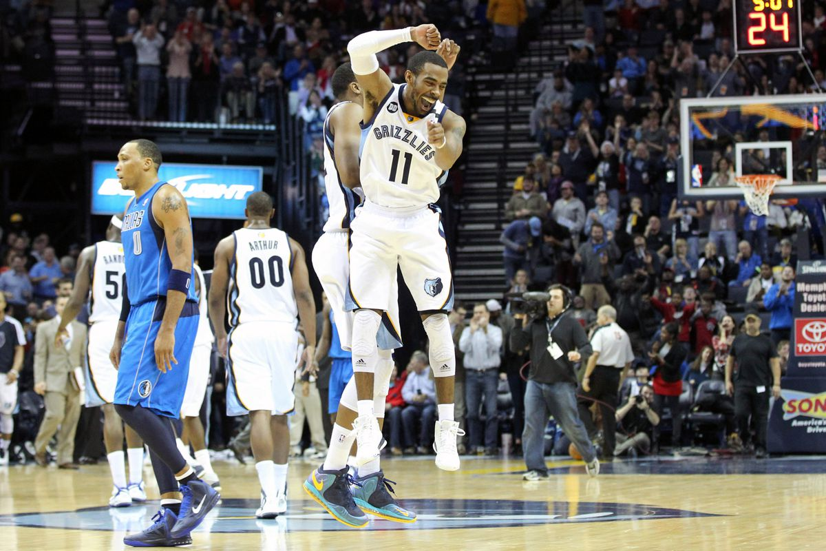 Good times in Memphis for Conley