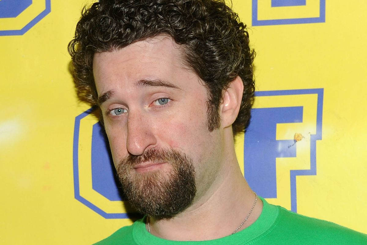 Actor Dustin Diamond is photographed in 2010 in New York City.