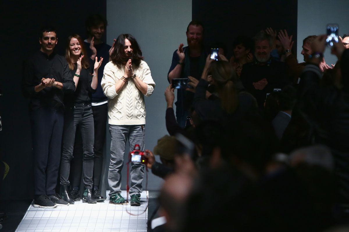 12 members from the design team took the final bow. Photo: Getty Images