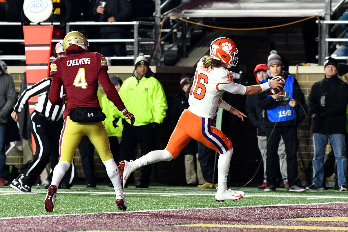 Assessing the Threat: Boston College at Clemson - Shakin ...