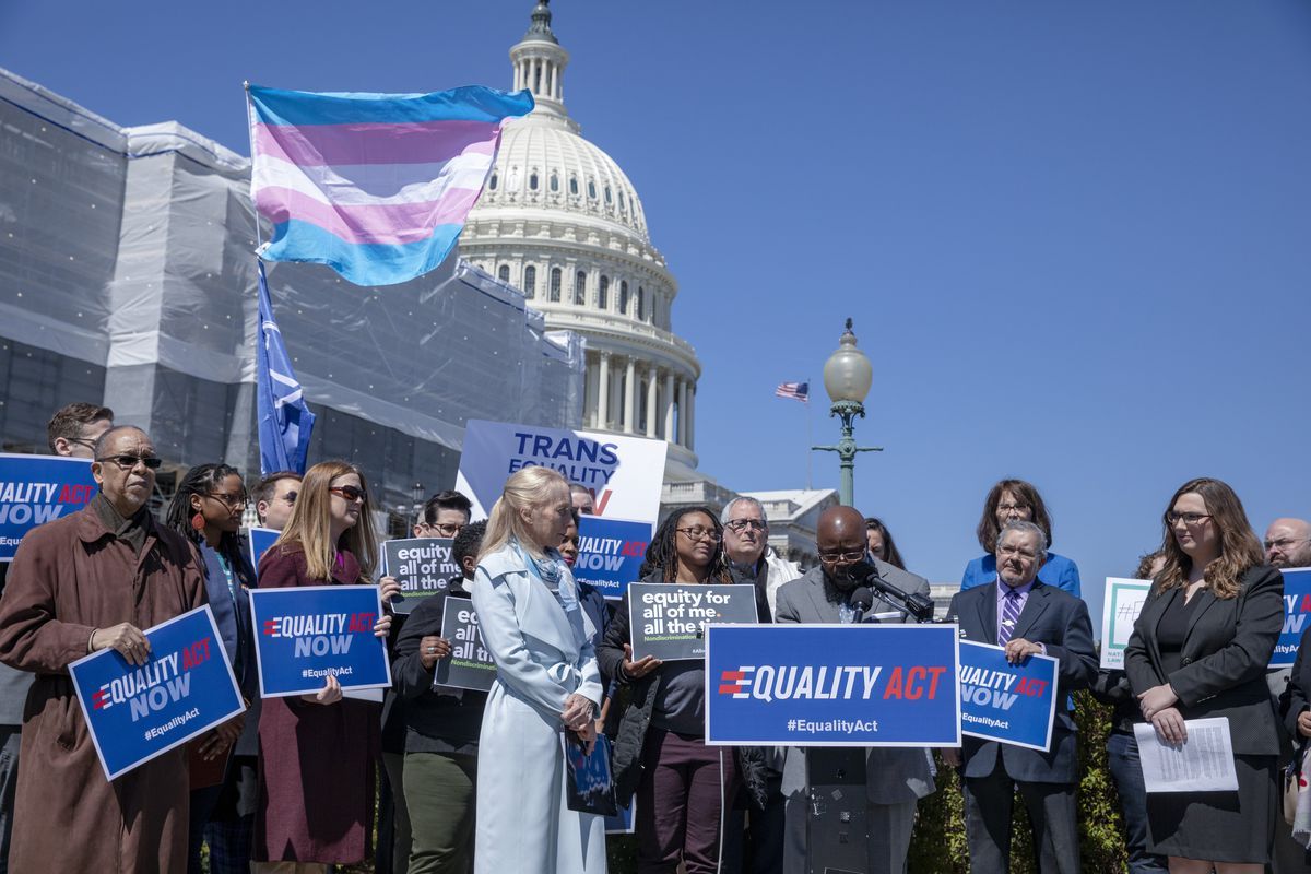 Lawmakers And Advocates Hold Press Conference To Discuss The Equality Act