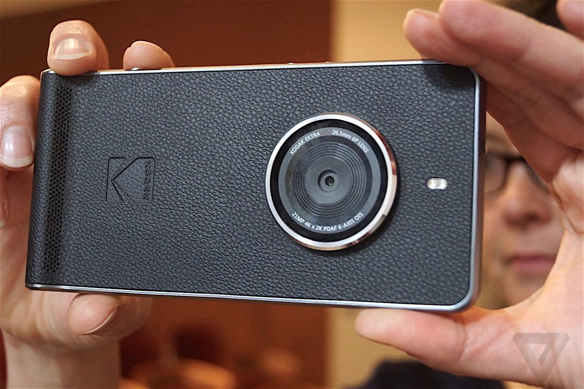Kodaks New Ektra Smartphone Would Rather Just Be A Camera The Verge - Smartphones mean you dont need a fancy camera to take an amazing photo