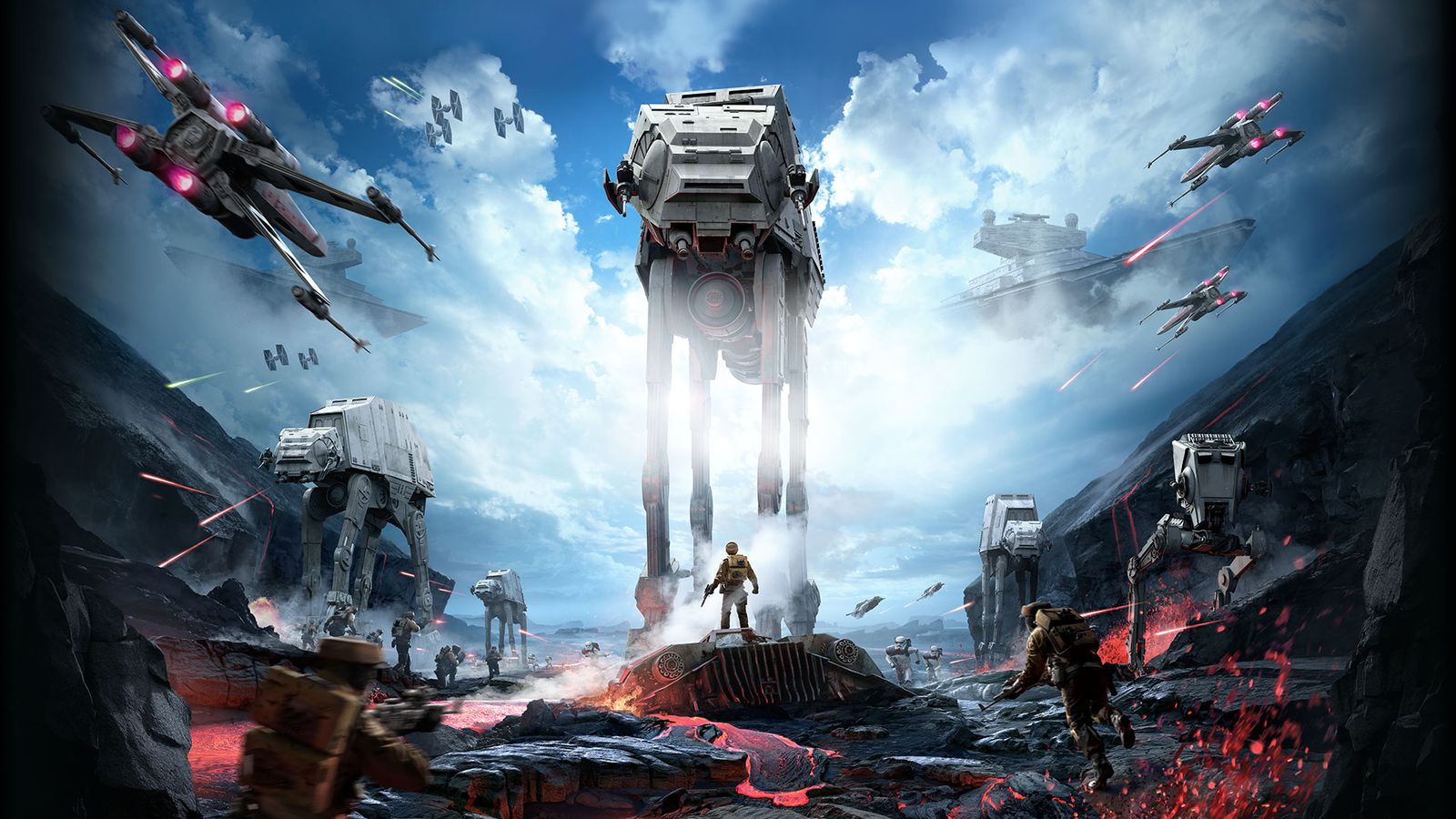 Star Wars Battlefront Sequel Coming In 2017 Polygon