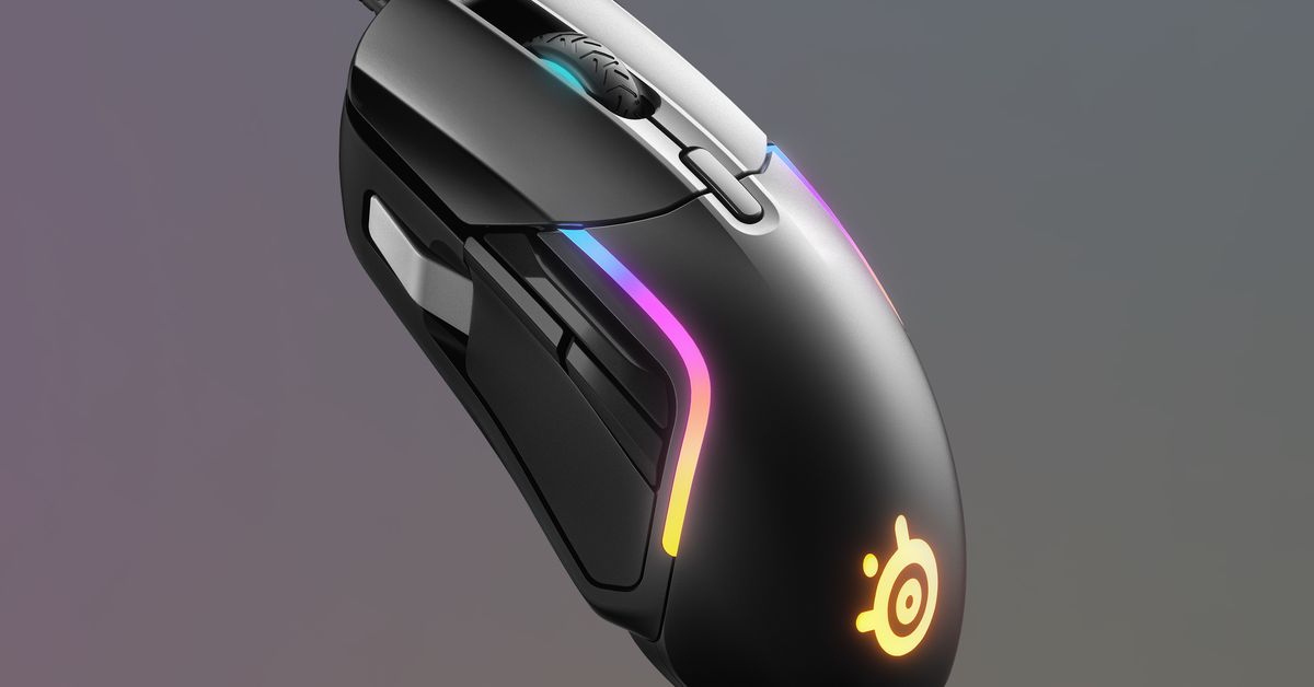 SteelSeries' budget-friendly Rival 5 is packed with buttons - The Verge