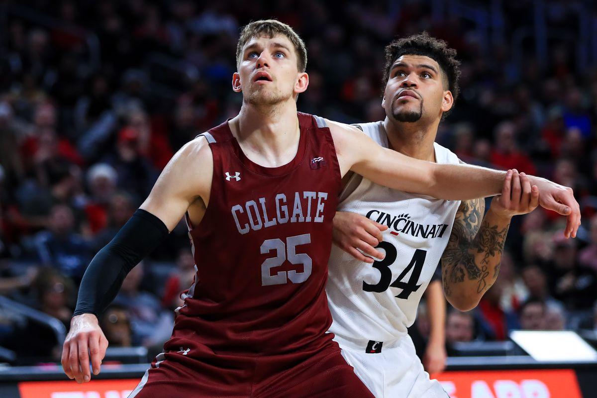 NCAA Basketball: Colgate at Cincinnati