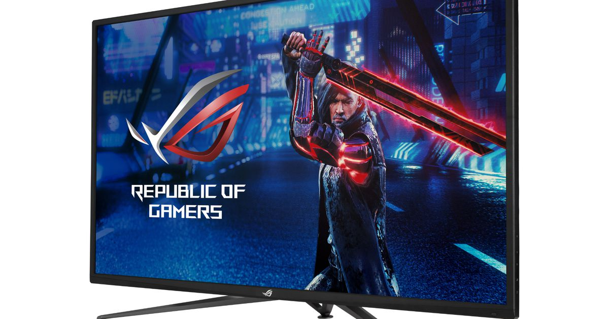 Asus has even more gaming monitors equipped with HDMI 2.1 ports