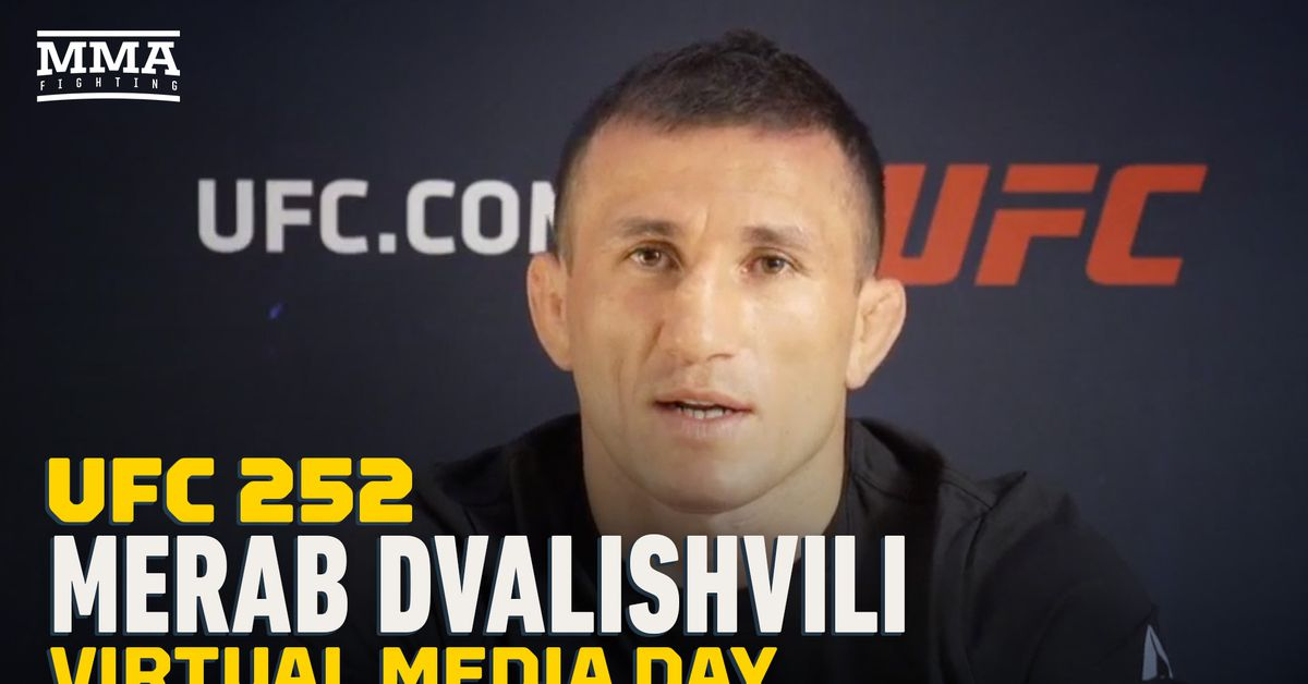 Video: Merab Dvalishvili hopes to fight Sean O'Malley or Marlon Vera with win at UFC 252