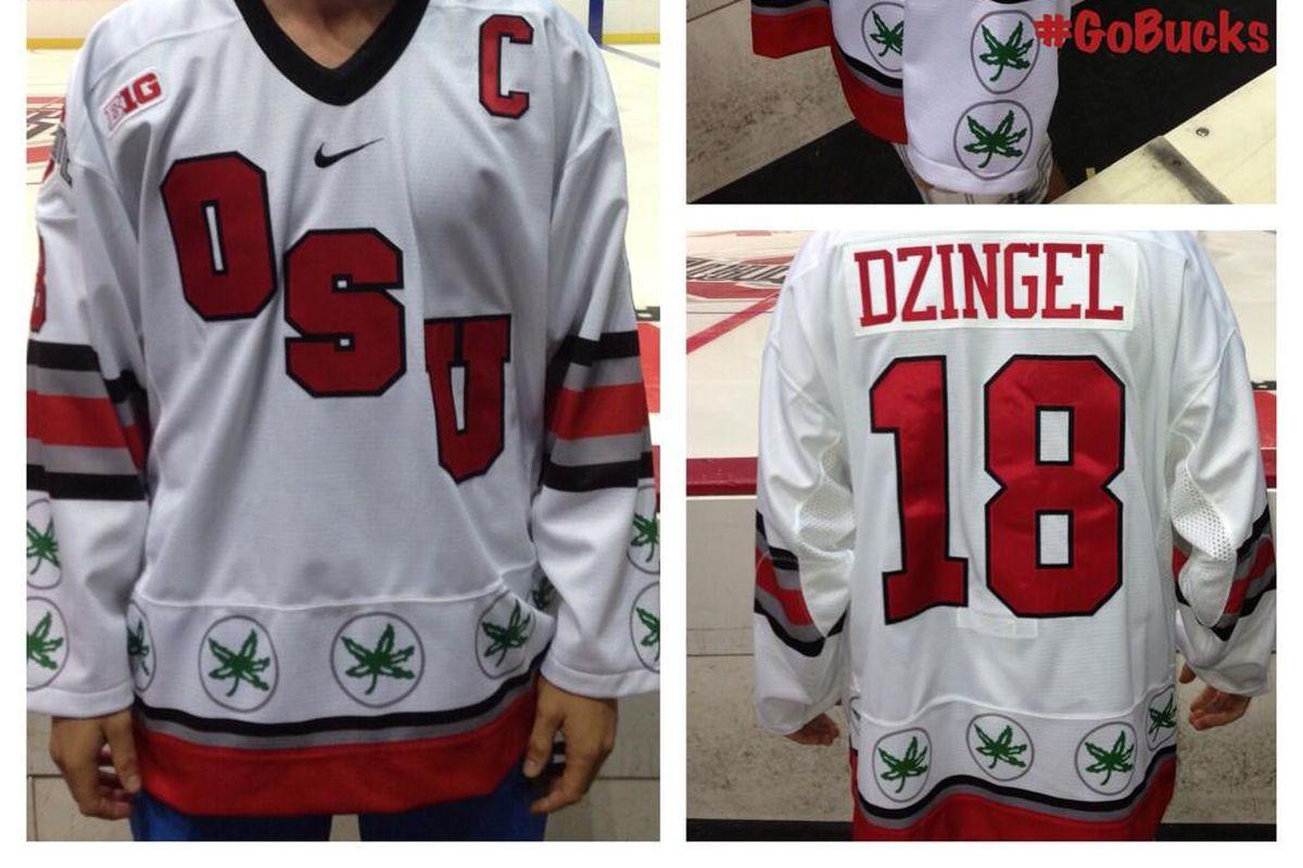 best website 57d36 5f301 Ohio State Unveils Snoop Dogg's Next Hockey Jersey - SB ...