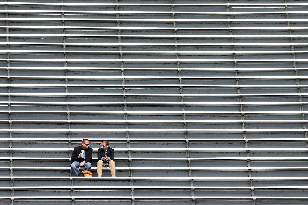 """""""Hey where is everybody?"""" """"I think they went to that #fight4MSU thing"""""""