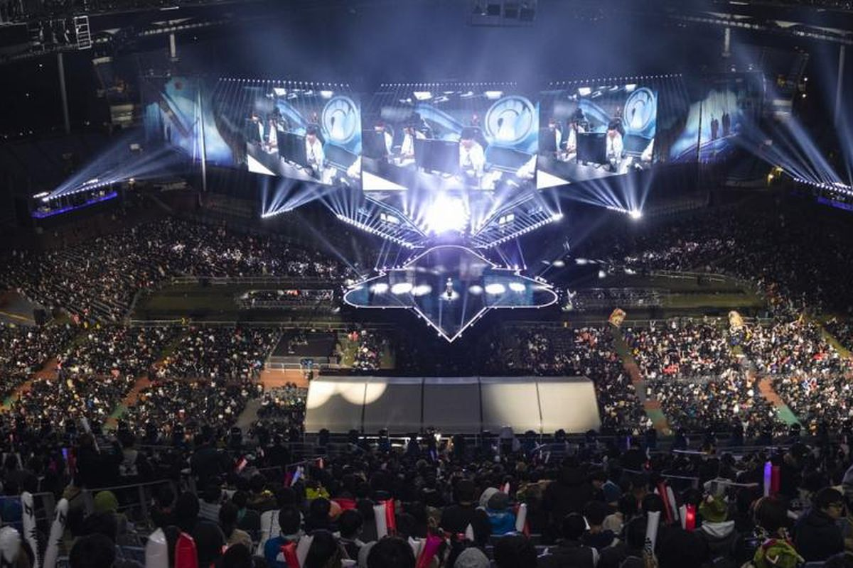The 2018 League Of Legends World Finals Had Nearly 100