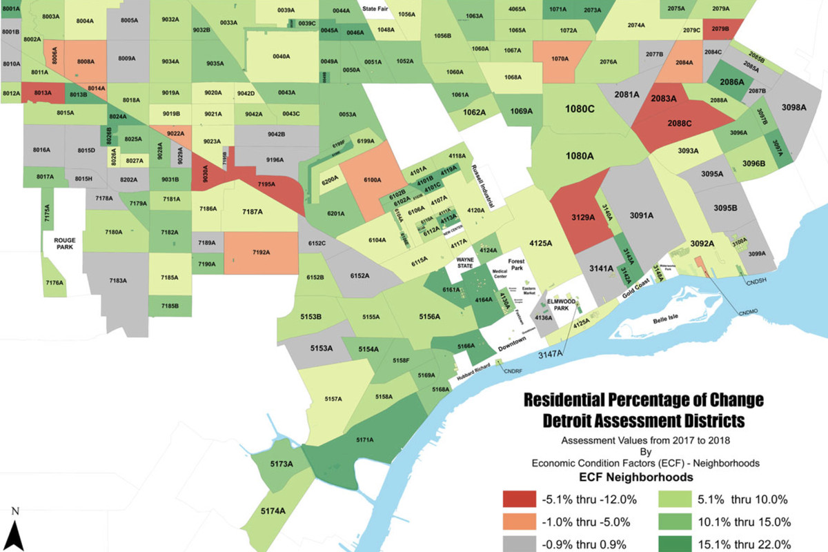 Detroit releases updated property essment data - Curbed Detroit on