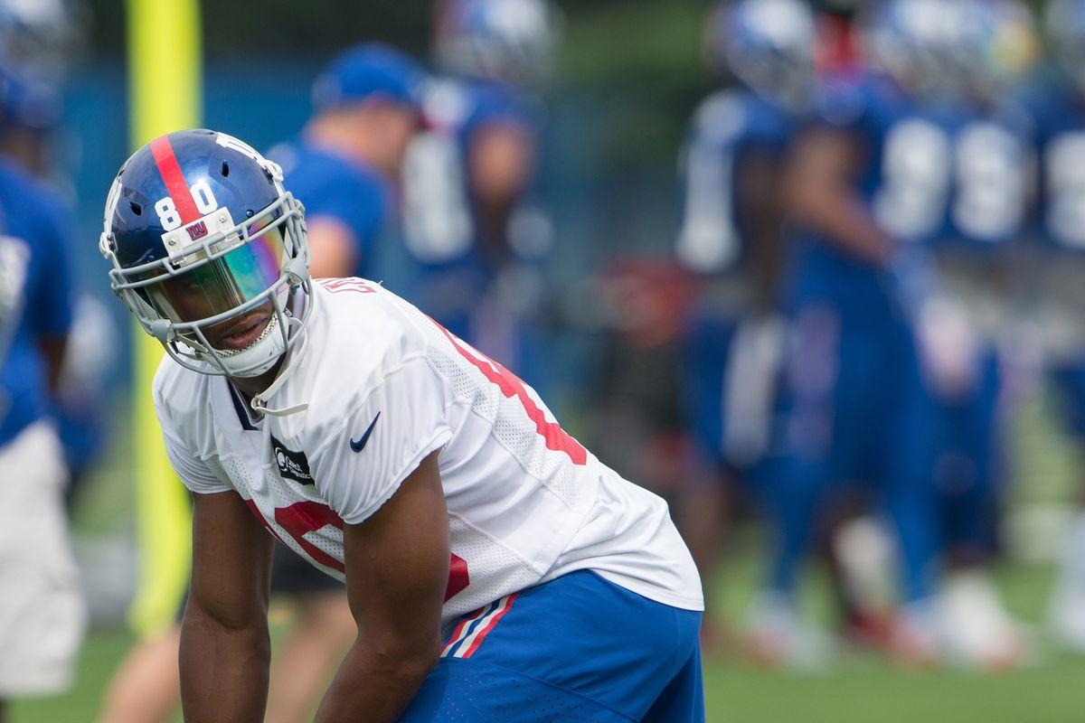 NFL: New York Giants-Training Camp