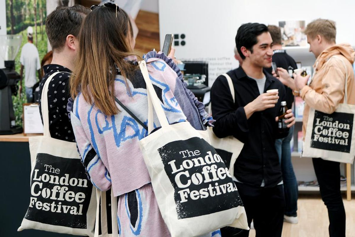 London Coffee Festival attendees at LFC 2019