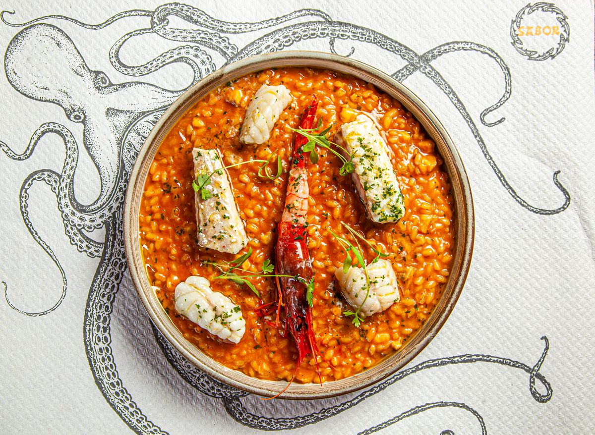 Michelin-starred Sabor's Nieves Barragan Mohacho's seafood rice