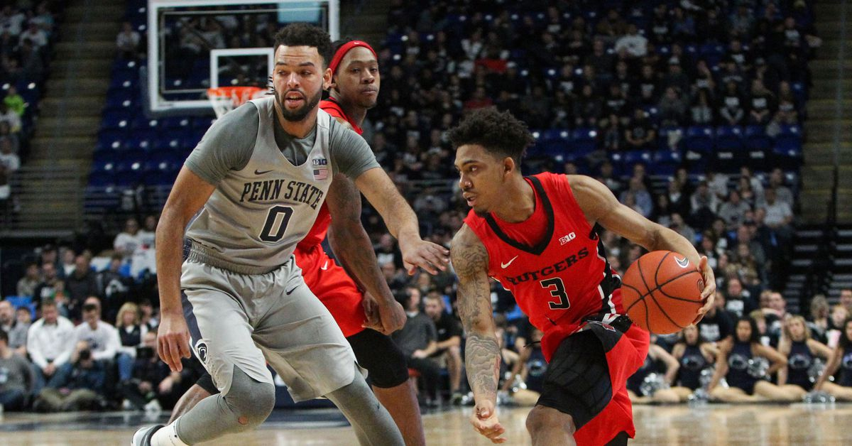 Rutgers Men's Basketball Game #23 Preview vs. Penn State - On the Banks