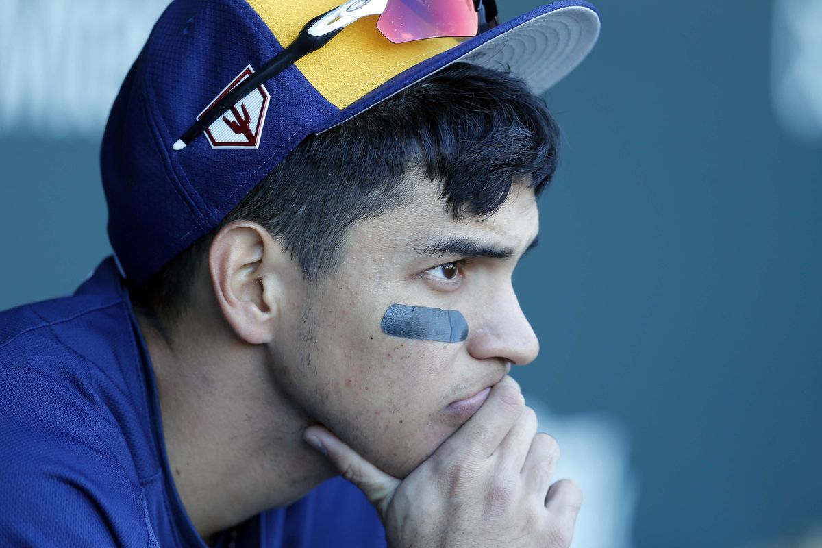 MLB: Spring Training-Milwaukee Brewers at Chicago Cubs