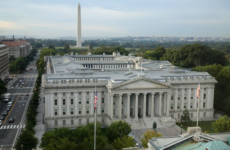 The US Department of Treasury, which houses the database.