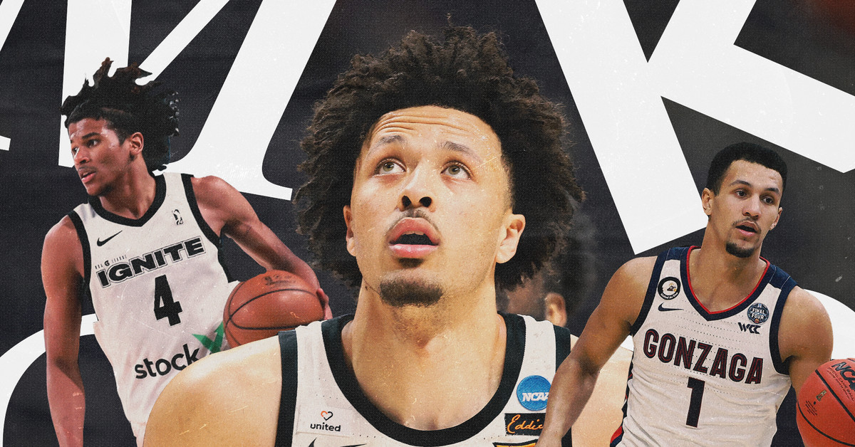 NBA mock draft 2021: Instant first round picks after lottery drawing thumbnail